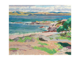 Ross of Mull from Traigh Mhor, Iona Giclee Print by Francis Campbell Boileau Cadell