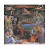 Transitus Virginis Giclée-tryk af Domenico Beccafumi