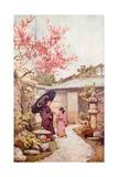 The Kobai Plum Blossom Giclee Print by Ella Du Cane