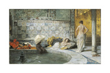 Turkish Bath Giclee Print by Domenico Morelli