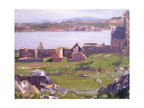 The Ruins of Iona Abbey Giclee Print by Francis Campbell Boileau Cadell