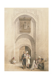 Modern Mansion, Showing the Arabesque Architecture of Cairo, from 'Egypt and Nubia', Vol.3 Giclee Print by David Roberts