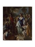 Stories of Alexander Giclee Print by Francesco de Mura