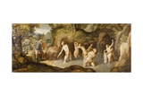 Diana and Actaeon Giclee Print by Andrea Schiavone