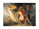 Venus in Form of Huntress Appears to Aeneas on Shores of Libya Giclee Print by Gallo Gallina