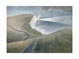 Beachy Head, 1939 Giclée-tryk af Eric Ravilious