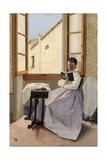 Aunt Erminia, 1867-1870 Giclee Print by Adriano Cecioni