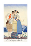 The Stolen Kiss Giclee Print by Georges Barbier