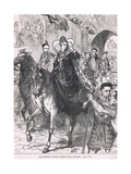 Elizabeth's Public Entry into London 1559 Giclee Print by Charles Ricketts