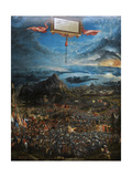 The Battle of Alexander at Issus Giclee Print by Albrecht Altdorfer