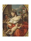 Allegory of Innocence Giclee Print by Francesco de Mura