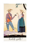 Are They Nice! Giclee Print by Georges Barbier