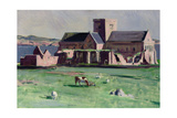 Iona Abbey from the Northwest Giclee Print by Francis Campbell Boileau Cadell