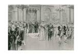 Court Ball Giclee Print by Frederic De Haenen