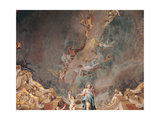 Triumph of Hercules and the Four Seasons Giclee Print by Giuseppe Maria Crespi