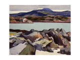 Ben More, from Above Port Beag Na Sligeanach Giclee Print by Francis Campbell Boileau Cadell