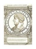 Constantius II Reproduction procédé giclée par Hans Rudolf Manuel Deutsch