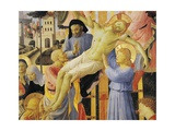 Deposition from Cross or Altarpiece of Holy Trinity Reproduction procédé giclée par Giovanni Da Fiesole