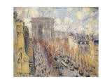 Avenue Friedland, Paris, 1925 Giclee Print by Gustave Loiseau