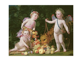 An Allegory of Peace and Plenty, 1629 Giclee Print by Gerrit van Honthorst