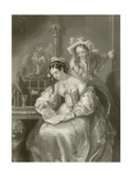 The Love Letter Giclee Print by Edward Henry Corbould