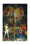 Crucifixion with Virgin and Saints, 1596 Giclee Print by Federico Fiori Barocci