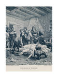 The Death of Pichegru Giclee Print by Georges Moreau De Tours