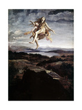 Assumption of Mary Magdalene, 1605 Giclee Print by Giovanni Lanfranco