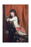 Mademoiselle Lia Levy, 1882 Giclee Print by Emile Levy