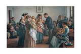 The Vaccination, 1894 Giclee Print by Demetrio Cosola
