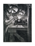 Acetylene Welders, 1917 Giclee Print by Christopher Richard Wynne Nevinson