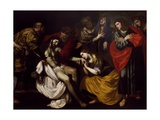 Deposition of Christ Giclée-Druck von Filippo Vitale