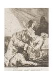 De Que Mal Morira Giclee Print by Francisco de Goya
