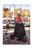 A Dutch Girl Giclee Print by George Hitchcock