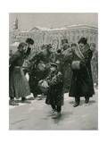 Coachmen of Nevsky Prospect Giclee Print by Frederic De Haenen