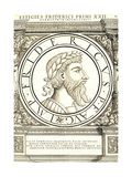 Fridericus I Reproduction procédé giclée par Hans Rudolf Manuel Deutsch