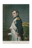 Napoleon in His Study Giclee Print by Hippolyte Delaroche