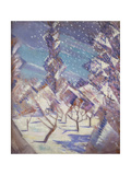 The Four Seasons: Winter, C.1919 Giclee Print by Christopher Richard Wynne Nevinson
