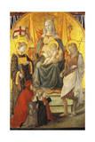 Madonna Del Ceppo, 1452-1453 Giclee Print by Filippo Lippi