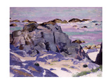 Lunga from Above Mermaids, Iona Giclee Print by Francis Campbell Boileau Cadell