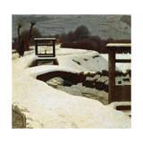 Snow, 1906 Giclee Print by Giuseppe Pelizza da volpedo
