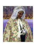Easter, a Bride in Brabant, C.1904 Giclee Print by George Hitchcock