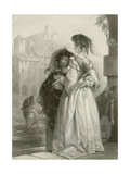 Parting Vows Giclee Print by Edward Henry Corbould