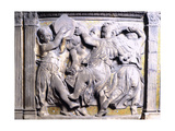 Dancing Cherubs, Detail from External Pulpit of Cathedral of Prato Giclee Print by  Donatello
