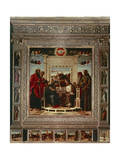 Pesaro Altarpiece Giclee Print by Giovanni Bellini