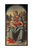 The Virgin Enthroned with the Child Giclee Print by Fra Bartolommeo