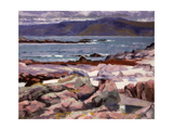 Sound of Iona, the Burg from the North Shore Giclee Print by Francis Campbell Boileau Cadell