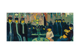 The Tabarin, or Cabaret in Paris, 1888-89 Giclee Print by Emile Bernard