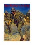 Men Wanted for the Army, 1914 Giclee Print by Isaac Brewster Hazelton