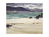 Ben Bhuie from the North End, Iona, C.1926 Giclee Print by Francis Campbell Boileau Cadell